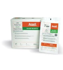 ANSELL ENCORE® MICROPTIC® POWDER-FREE LATEX SURGICAL GLOVES