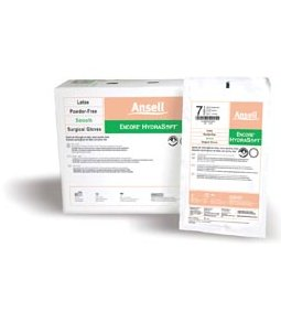 ANSELL ENCORE® HYDRASOFT™ POWDER-FREE STERILE SURGICAL GLOVES
