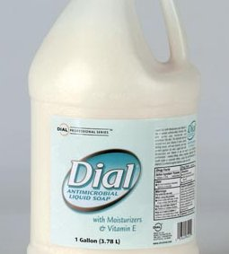 DIAL® ANTIMICROBIAL LIQUID SOAP WITH MOISTURIZERS & VITAMIN E