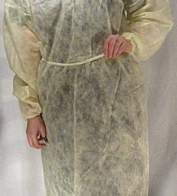 DUKAL ISOLATION GOWNS