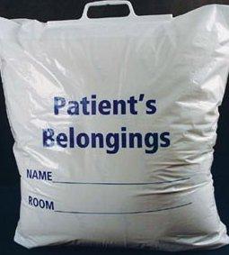 ADI PATIENT PERSONAL BELONGINGS BAGS