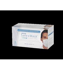 MEDICOM SAFE+MASK® PREMIER PLUS EARLOOP MASK