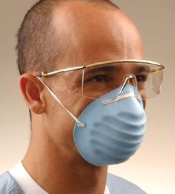 CROSSTEX SURGICAL MOLDED FACE MASK