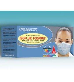 CROSSTEX ISOFLUID FOGFREE® EARLOOP MASK