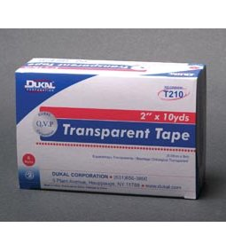 DUKAL SURGICAL TAPE - TRANSPARENT