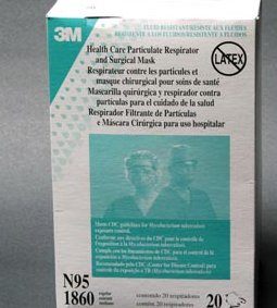 3M™ HEALTH CARE N95 PARTICULATE RESPIRATOR & SURGICAL MASK